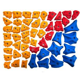 Ergoholds Gym 1 Mix Climbing Holds 50 Holds mixed colors